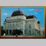 Karten Ansicht Graz Oper 10x15cm