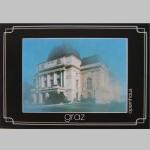 Karten Ansicht Graz Opernhaus 10x15cm