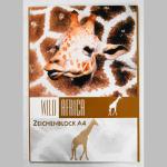 Zeichenblock Tiere A4