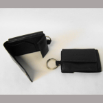 Geldbörse Mini braun mit Schlüsselring