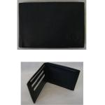 Geldbörse Herren quer schwarz 10,5x8,5cm