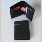 Geldbörse Herren Datasafe schwarz/taupe