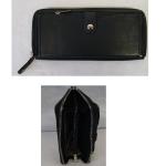 Geldbörse Damen schwarz 19cm