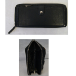 Geldbörse Damen Greek schwarz 19cm