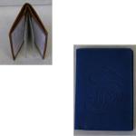 Kreditkartenetui blau Paisley