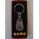 Schlüsselanhänger + Ventilkappen Subaru