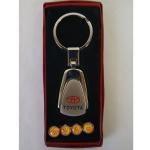 Schlüsselanhänger + Ventilkappen Toyota