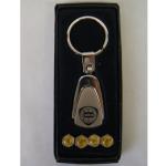 Schlüsselanhänger + Ventilkappen Lancia