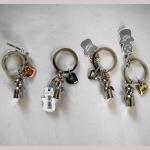 Schlüsselanh. Engel mit Herz 7cm