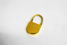 Schlüsselanh. Vergoldet,U-Form