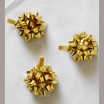 Fertigmasche metallic gold 35mm