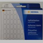 Haftetiketten Herma  8x12mm