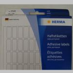 Haftetiketten Herma  8x20mm