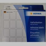 Haftetiketten Herma  16x22mm