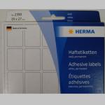 Haftetiketten Herma  19x27mm