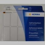 Haftetiketten Herma  19x40mm