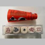 Pokerwürfel (5er) 22mm 2987