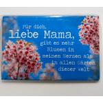 Magnet Liebe Mama 8x5cm