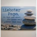 Magnet Liebster Papa 8x5cm
