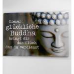 Magnet glückliche Buddha 8x5cm