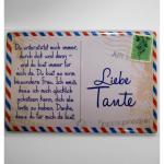 Magnet Liebe Tante 8x5cm