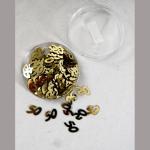 Dekostreu 50Jahre gold 1cm