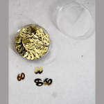 Dekostreu 60Jahre gold 1cm