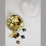 Dekostreu 75Jahre gold 1cm