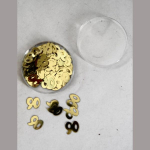 Dekostreu 90Jahre gold 1cm