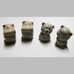 Porzellanfiguren 5 lustige Tiere