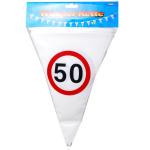 Wimpel-Girlande 50 Jahre 10m