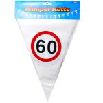 Wimpel-Girlande 60 Jahre 10m