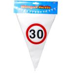 Wimpel-Girlande  30 Jahre 10m