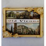 Magnet Wien Holz Old Vienna