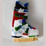 Magnet Ski Schuh Blanko QIM140029
