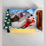 Magnet Skifahrer QIM160013