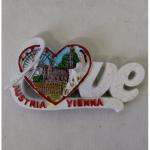 Magnet Wien Love Austria Sisi mit Herz