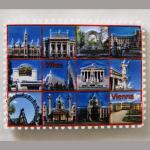 Magnet Wien Stone Briefmarke QIM150035