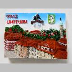 Magnet Graz Uhrturm quer