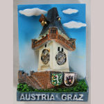 Magnet Graz Uhrturm SGY092