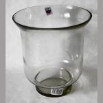 Windlicht Glas 18x13cm