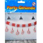 Party-Girlande 20Jahre 4m