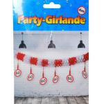 Party-Girlande 60Jahre 4m