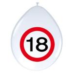Luftballon 18Jahre 8er