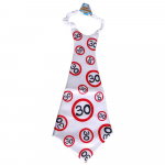 Riesen-Krawatte 30Jahre 90cm