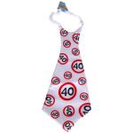 Riesen-Krawatte 40Jahre 90cm