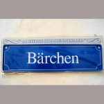 Namensschild Bärchen 7x26cm