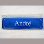 Namensschild Andre 7x26cm