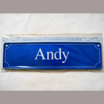 Namensschild Andy 7x26cm