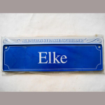 Namensschild Elke 7x26cm